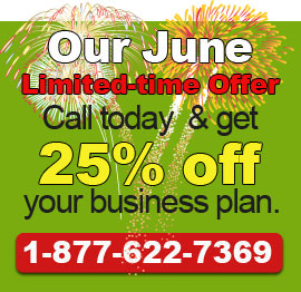 Call today to get our June Deal!. 1-877-622-7369.