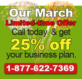 Call today to get our March Deal!. 1-877-622-7369.